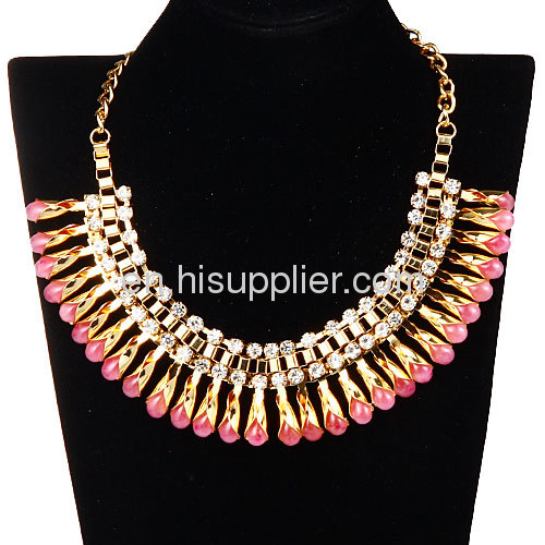 Designer Fashoin Accessories Gold Plated Necklace Bijouterie Wholesale