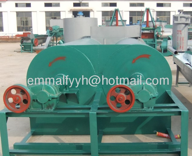 strong scrubbing washing machine for waste plastic flakes