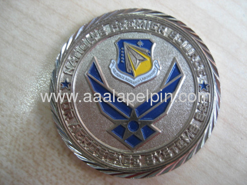 Soft Enamel Challenge Coin pin two design