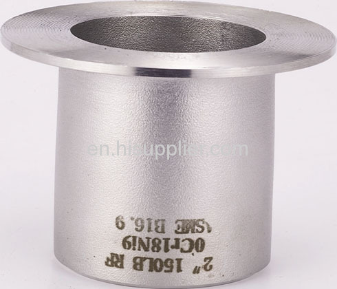 MSS SP-43 stainless steelbutt welded Stub Ends