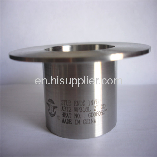 MSS SP-43 alloy steel butt welded lap joint stub ends