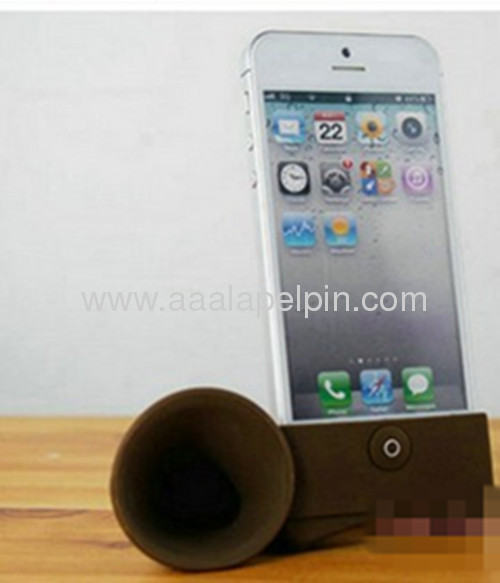 Blackhorn stand speaker, Silicone amplifier for iphone 5 5G