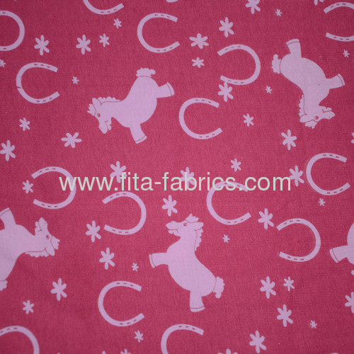 Custom floral knit print fabric for fashion dress