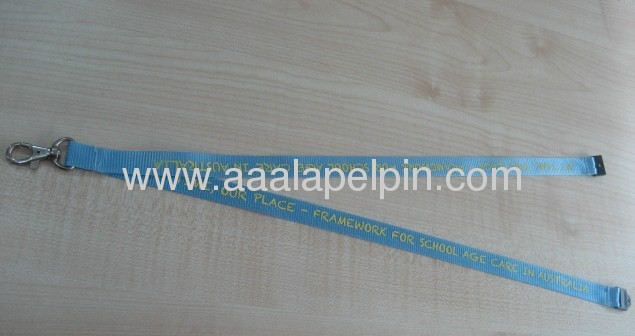 Blue Nylon lanyards lanyards factory lanyard manufacturer lanyards supplier