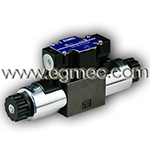 Vickers DG4V3, DG4V-3, Hydraulic AC/DC Solenoid Terminal Assignment Central Connection Directional Control Valve