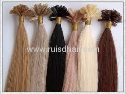 I-tip Indian remy human hair extension