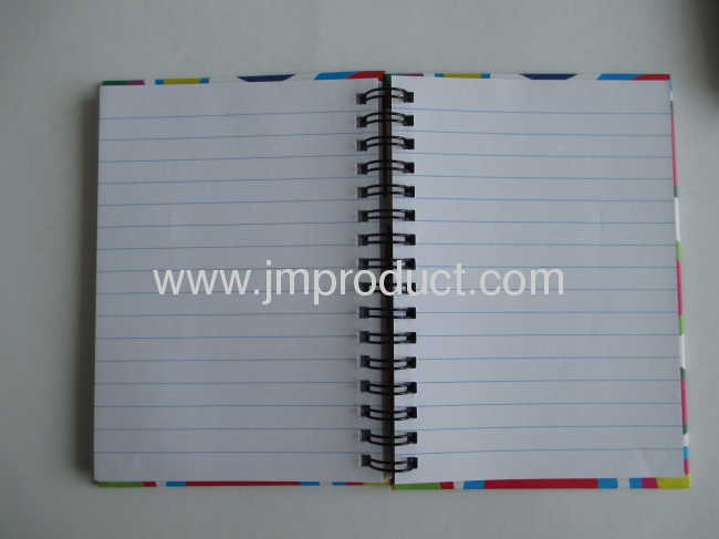 Hardcover spiral pocket notebooks