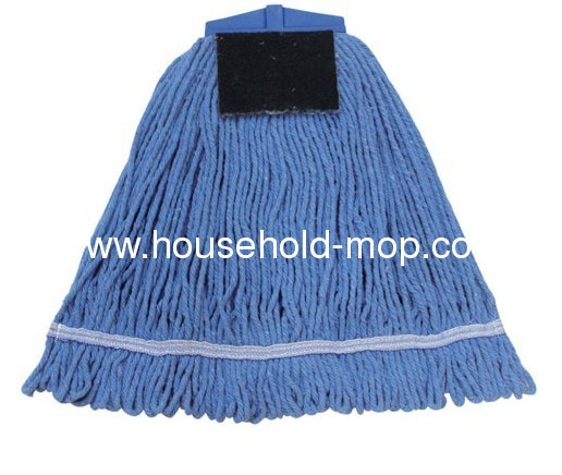 400Gram wet cotton mop with good quality white cotton yarn