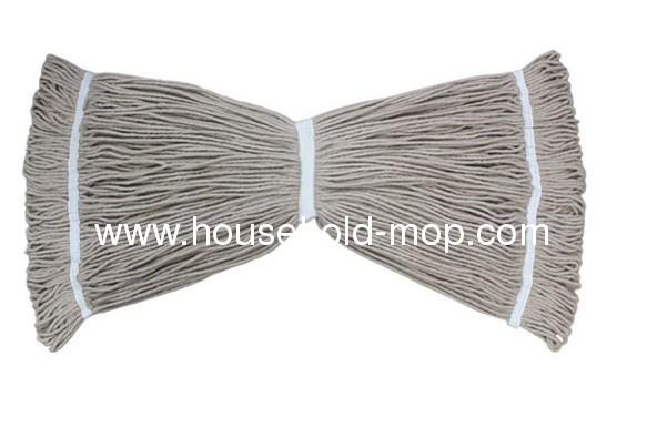 patented twin-lock yarn mop head