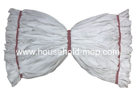 10/4 Recycled Cotton polyester knitting mop yarn