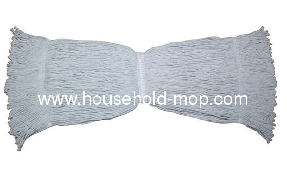 colored recycled cotton polyester blended yarn