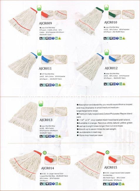 100% Cotton Mop Head Organic Cotton Mop Yarn