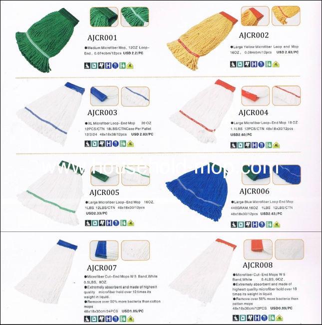 recycle cotton polyester yarn, mop yarn regenerated cotton polyester yarn