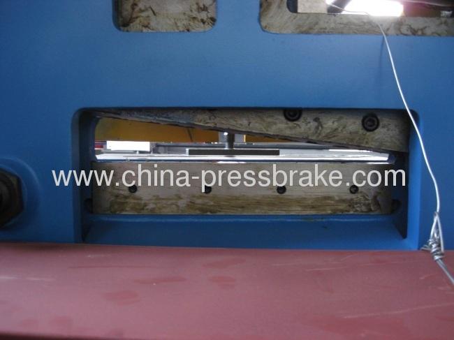 tooling of shearing machine