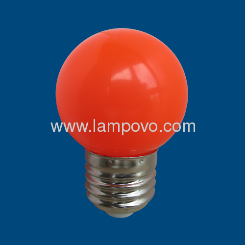 E27 0.6W LED CHRISTMAS RED BULB