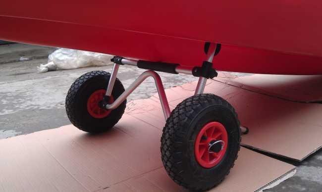Kayak/ Collapsible Kayak Cart/kayak trolley/boat trolley aluminum alloy material
