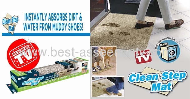 hot sale clean step mat/pad/absorbs dirt mud and water like magic-very easy life