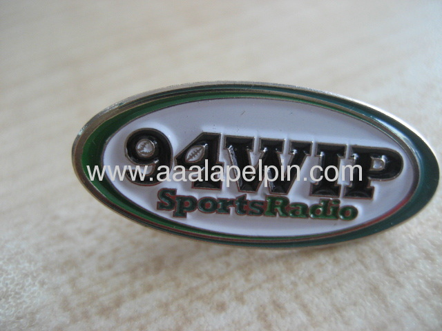 Oval shade lapel pin. Table Tablet Stands badges,name tag lapel pin