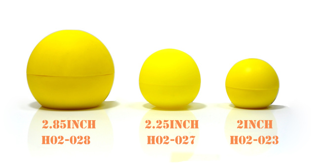 FDA 3inch Silicone Ice ball mold in Yellow