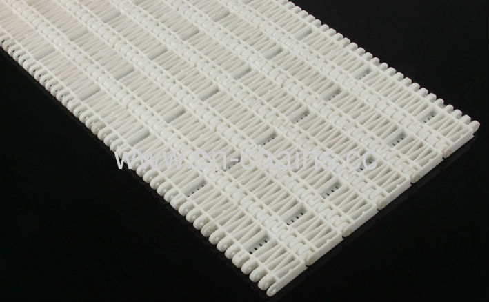7800series baffle/apron type plastic modular belts