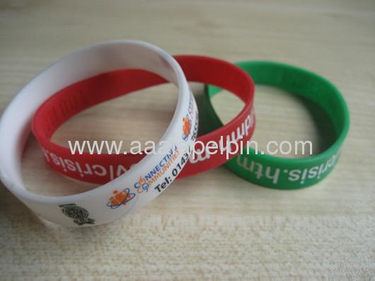 charmedSilicone Wristband ;fashion Silicone Bracelets