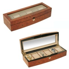 Xavi Hardwood Wooden Watch Box Case