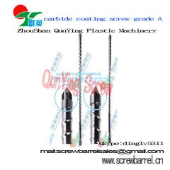 tungsten carbide screw and barrel