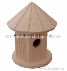 supply garden decration product wooden bird house