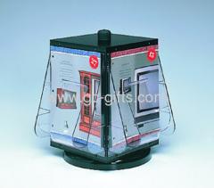 Counter top rotation flyer dispenser