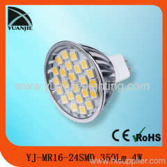 4w mr16 24 smd led lamp