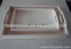supply cheap wooden tray