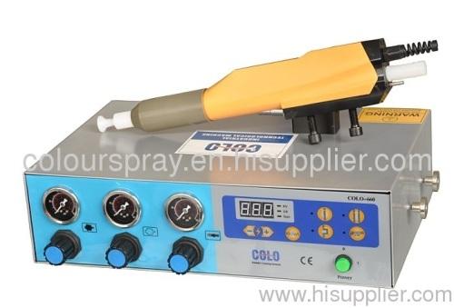 electrostatic auto powder spray machine