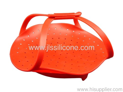 Silicone steamer in Daily use