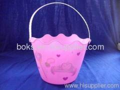 plastic Easter pails with handle
