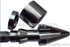 screw and barrel for pvc extruder