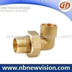 Brass Elbow Pipe Fittings