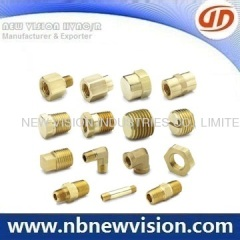 CNC Machining Brass Pipe Fitting