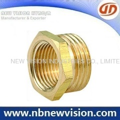 Brass Threaded Fitting - Plug