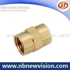 Brass Pipe Fitting - Union