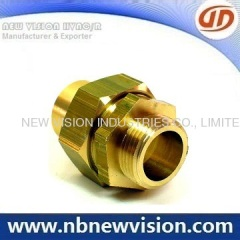 CNC Machining Brass Union