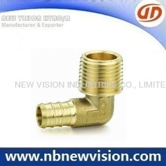90 Degree Brass Fitting