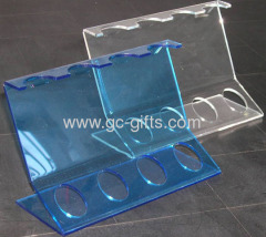 Plastic display case counter