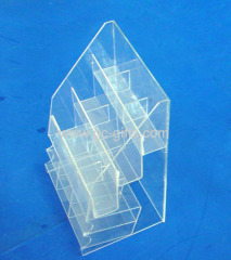Clear acrylic display organizer