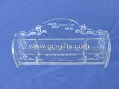 Clear acrylic KTV display box