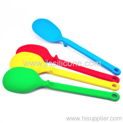 "FDA 12"" Silicone Serving Spoon & Spatula Heat resistant non-stick"