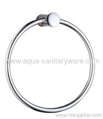 Round Bathroom Towel Ring Holder