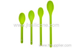 Slicone soup spoon in bright color