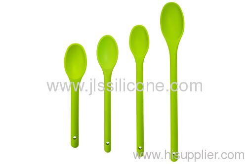 Slicone soup spoon in bright color
