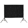 LED star light vision curtain for stage backdrops