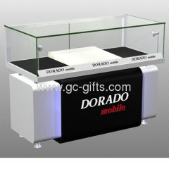 Tempered glass retail cash wrap